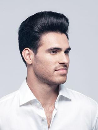 Mannerfrisuren feines dunnes haar